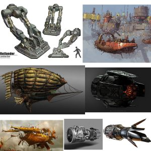 Steampunk Reference Images