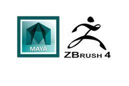Maya and Zbrush Logo