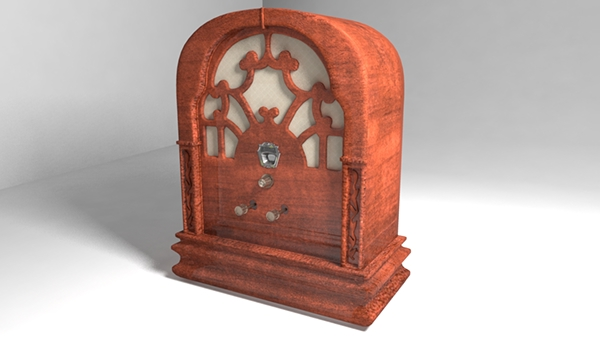 An old 1930 Radio